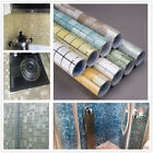 Mosaic Stick On Self Adhesive Wall Tile Stickers Anti Oil For Kitchen & Bathroom