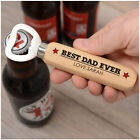 PERSONALISED Wooden Bottle Opener Birthday Gifts for Boyfriend Husband Him Daddy