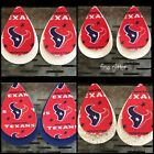 Houston Texans Faux Leather Earrings *FAST SHIPPING* $10.0 USD on eBay