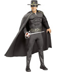 Zorro Deluxe Muscle Chest Mens Costume