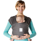 Baby K'tan ORIGINAL,BREEZE,ACTIVE Baby Carrier - Charcoal Size: S-XL