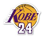 Внешний вид - Kobe Bryant 24 Lakers Vinyl Decal (In Memoriam)