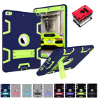 Shockproof Rubber Armor Case Hard Stand Cover For Apple iPad Mini 1 2 3 4 5