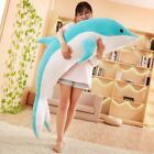 Large Plush Dolphin Toys Stuffed Sea Animal Girls Dolls Soft Baby Sleeping Hug