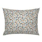 Fall Polka Dot Pillow Sham by Roostery image