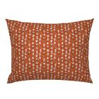 Pumpkin Spice Psl Latte Coffee Autumn Fall Donut Pillow Sham by Roostery image