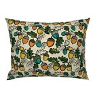 Acorn Autumn Fall Pillow Sham by Roostery image