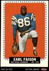 1964 Topps #157 Earl Faison Chargers Indiana 5 - EX $2.7 USD on eBay