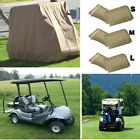 new 4 Passenger Golf Cart Cover Storage Waterproof  3 Size For Club Car EZ Go