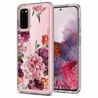 Samsung Galaxy S20 S20 Plus S20 Ultra Case | Ciel [Cecile] Clear Floral Cover