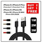 Long Braided USB Quick Charger Data Charging Cable Lead For iPhone 6s...
