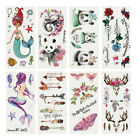JP_ AU_ FT- Ethnic Panda Arrow Anlter Printed Temporary Tattoo Sticker Body Ar $2.09 USD on eBay
