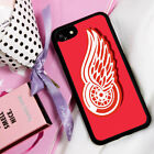 Detroit Red Wings Hockey Logo Samsung S8 S9 S6 AC38 iPhone 11 XR SE 6 7 8 case $13.49 USD on eBay