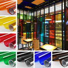 Kyпить Transparent Window Film Color Solar Tint Self Adhesive Anti UV Heat Glass Decor на еВаy.соm