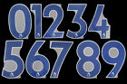 2019 2021 OFFICIAL AVERY DENNISON PREMIER LEAGUE NAVY NUMBERS 230mm =PLAYER SIZEEnglish Clubs - 106485