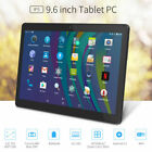 9.6'' Inch Tablet PC 16GB Android 5.1 Google Quad Core HD 3G Pad Unlocked Yuntab