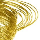Easy 9ct Solder Wire 25mm - 500mm Hallmarkable Solder 0.38mm Guage Yellow Gold