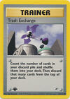Trash Exchange Trainer Common Pokemon Card 1st Edition Gym Heroes 126/132