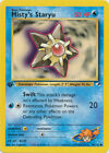 Misty's Staryu Common Pokemon Card 1st Edition Gym Heroes 90/132