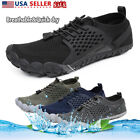 NORTIV 8 Men's Water Shoes Quick Dry Barefoot Swim Diving Surf Aqua Water Sports