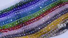 Kyпить Rondelle Faceted Crystal Glass Loose Spacer Beads Czech Crystal AB DIY Jewelry  на еВаy.соm