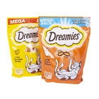 Dreamies MEGA pack Cat Kitten Treats Biscuits Cheese & Chicken Pet Crave 200g