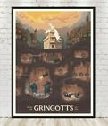 Escape from Gringotts Poster Diagon Alley Poster Harry Potter Poster Ride Poster