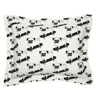 Pugs Skater Dog Funny Kawaii Animal Pet Doggy Puppy Kids Pillow Sham by Roostery
