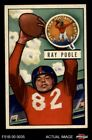 1951 Bowman #93 Ray Poole Giants-FB Mississippi / North Carolina 6 - EX/MT $28.0 USD on eBay
