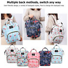 Mummy Mom Maternity Nappy Diaper Bag Large Capacity Baby Infant Travel Backpack