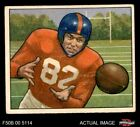 1950 Bowman #32 Ray Poole Giants-FB Mississippi / North Carolina 4 - VG/EX $22.5 USD on eBay