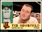 1960 Topps #382 Ted Bowsfield Red Sox 5.5 - EX+