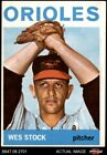 1964 Topps #382 Wes Stock Orioles 4 - VG/EX