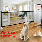 Pet Dog Baby Safety Gate Mesh Fence Guard Home Kitchen Retractable Isolation net