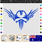 Skull With Wings - Permanent Adhesive Vinyl Decal Sticker Car/wall/laptop