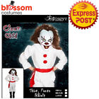 CK1690 Boys Pennywise IT Freakshow Clown Circus Halloween Scary Child Costume