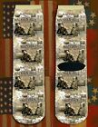 Battle of Malvern Hill American Civil War/War Between the States crew socks