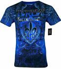 XTREME COUTURE by AFFLICTION Men T-Shirt COBU SMITHSONIAN Biker MMA S-5X$40 image