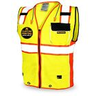 KwikSafety SUPREME Class 2 ANSI OSHA Safety Vest