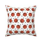 Basketball Sports Sport Kids Throw Pillow Cover w Optional Insert by Roostery