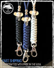 Heavy Duty Paracord Elephant Lanyard Necklace with Break-Away Clasp