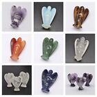 Angel Natural Crystal Gemstone Home Display Decoration 40mm + Gift Pouch(l009a)