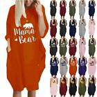 Womens Oversized Baggy Short Sleeve T Shirt Dress Loose Summer Casual Tunic Tops