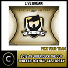 2018-19 UPPER DECK THE CUP 3 BOX (HALF CASE) BREAK #H749 - PICK YOUR TEAM - $104.0 CAD on eBay