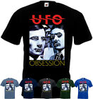 UFO - Obsession T-shirt black blue green graphite hard rock all sizes S-5XL image