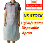 Disposable Plastic Aprons White NHS Polythene Aprons Eco Flat Pack Waterproof
