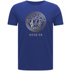 VEGETA T-SHIRT - VERSACE JEANS DBZ DRAGON BALL Z GOKU FAN ART COOL ANIME TOP