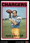 1972 Topps #15 John Hadl Chargers Kansas 5 - EX $0.99 USD on eBay