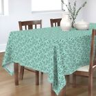 Tablecloth Deer Taxidermy Hunting Buck Redneck Triangle Cotton Sateen