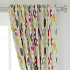 """Kitchen Retro Palette Limited Spoon Utensil 50"""" Wide Curtain Panel by Roostery"""